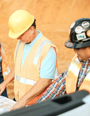 Madden Materials Crew in Sand Quarry